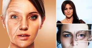 Проблема: кожа выглядит сухой и тусклой. Решение – используйте помаду для губ насыщенных тонов. Выразительный макияж губ оживляет цвет лица, кожа начинает светиться изнутри. Универсальный тон помады – ягодный: подходит практически всем женщинам в возрасте. Обязательно используйте контурный карандаш, так как с возрастом кожа вокруг губ становится морщинистой, помада может растекаться в морщинки.
