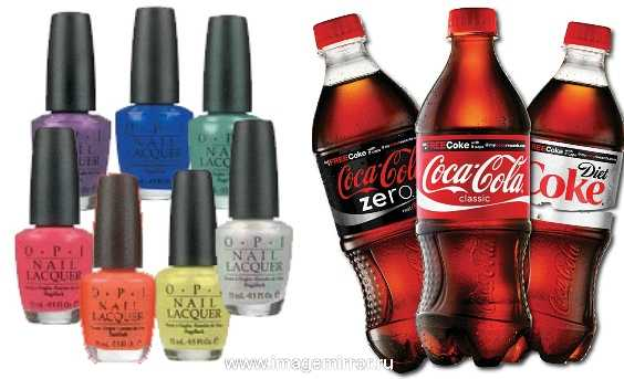 coca cola vypustit kollektsiyu lakov dlya nogtey