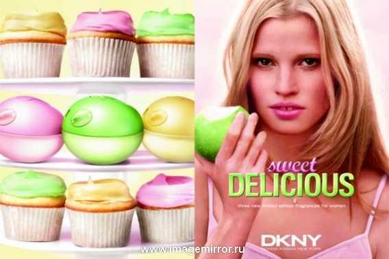 Лицом промокампании Sweet Delicious стала известная 28-летняя голландская модель Лара Стоун