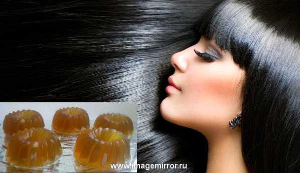 Домашнее ламинирование волос: готовим желатиновый шампунь