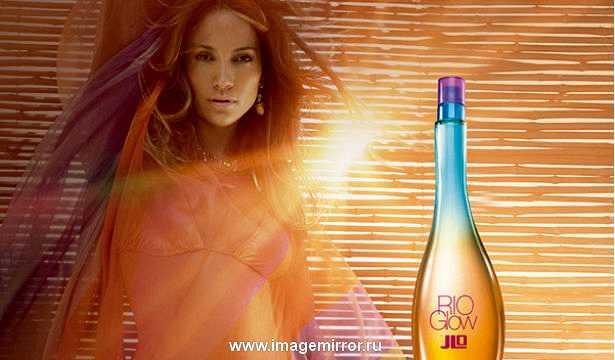 Дженнифер Лопес представила новый парфюм Rio Glow