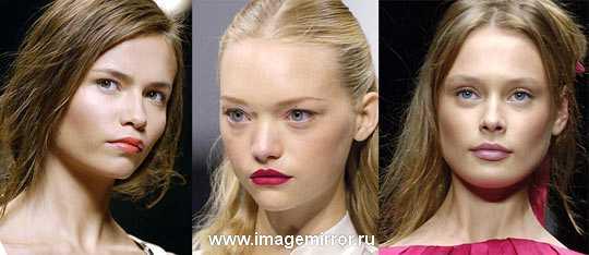 Модный макияж сезона весна-лето 2006