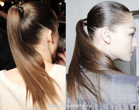 hair trendy khvosty kosoy probor i lenty 5
