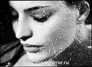 Красивая кожа в морозный день