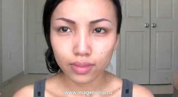 Так Таманг Фан выглядит без макияжа