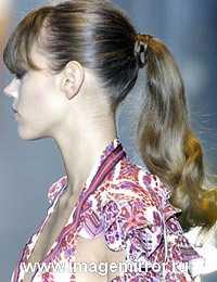 Модные прически весна-лето 2007. Фото причесок