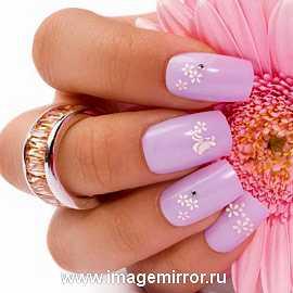 Модный дизайн ногтей лета-2011