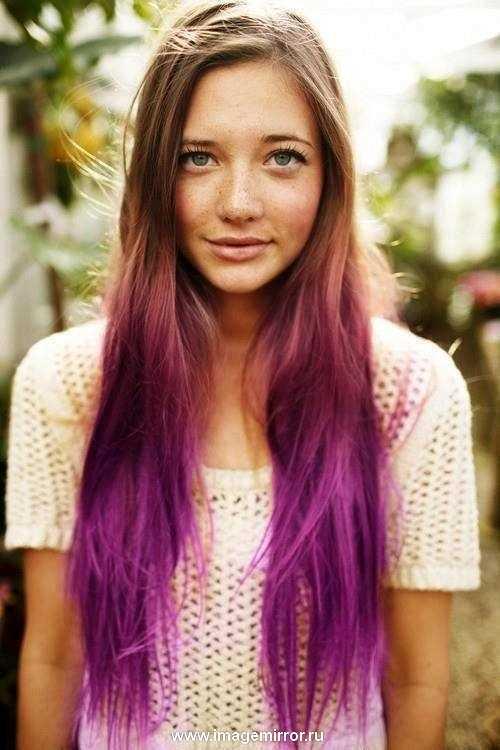ombre hair color modnyy trend vesny 2013 v okrashivanii 6