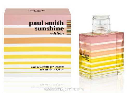 paul smith vypustit parnye aromaty sunshine editions 2013 0