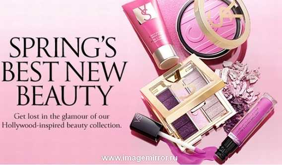 Весенняя коллекция макияжа от Victoria's Secret