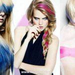 Цветные мелки для волос: как пользоваться