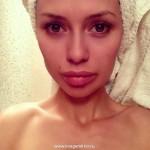 Виктория Боня показала фото без макияжа