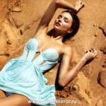 Миранда Керр снялась в промокампании собственной линии косметики