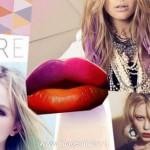 Эффект омбре в макияже губ 2013