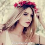 Тренд: обруч для волос с цветами