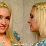Мастер-класс: коса-«водопад»
